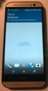 HTC One M8 32Gb BLACK (Sprint) Fast Shipping Good Used Battry Issue