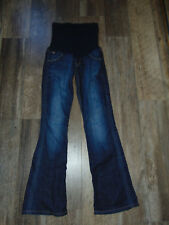A PEA IN THE POD Collection HUDSON Boot Cut Triangle Pocket JEANS Size 26