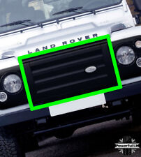 Genuine Defender SVX front grille in Gloss Black 90 110 +badge LR041905 X-Tech
