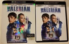 VALERIAN AND THE CITY OF A THOUSAND PLANETS 4K ULTRA HD BLU RAY 2 DISCS SLIPCOVE