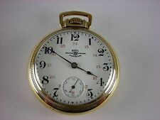 Antique Ball Hamilton 999 18s Canadian Rail Road pocket watch 19 jewels, 1906