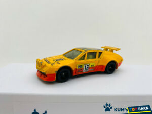 Tomica #F58 ALPINE RENAULT A310 Yellow Made in Japan Model Used