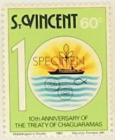 St. Vincent #676 MNH Specimen CV$0.50 Treaty of Chaguaramas Ship Hands