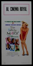 L81 LOCANDINA TUTTI PAZZI PER MARY THERE'S SOMETHING ABOUT MARY  DIAZ STILLER