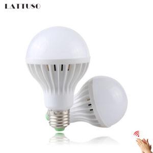 Smart LED E27  9W  sound sensitive Light Bulb  Intelligent Lamps