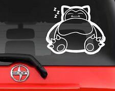 "Vinyl Decal Sticker, Car, Window, Wall... Pokemon Go #143 Snorlax 3"" Decal JDM"