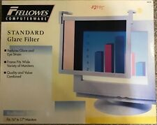 "Fellowes Vintage Standard Glare Filter For 16"" to 17"" Monitors"