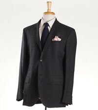 NWT $1995 LUCIANO BARBERA Gray Houndstooth Check Wool Sport Coat 40 R (Eu 50)