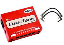 T-Rex Engineering Fuel Tank Junior V2 Power Supply Pedal Bundle w/2 FREE Ca