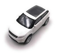 Range Rover Evoque Weiß Modellauto Auto Maßstab 1:60
