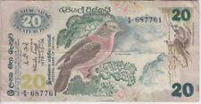 Ceylon Banknote P86-20 Rupees 1979,  F