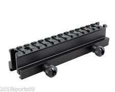 "1 inch Riser QD Scope Mount 14 Slots (1"" H x 5.7"" L) on Flat Top Picatinny Rail"