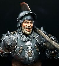 Resin soldier, museum, bust, La Hire, Battle of Patay 1429, Hundred Years, 1:10