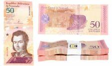 100-REPUBLICA BOLIVARIANNA DE VENEZUELA 50 CINCUENTA BOLIVARES BANKNOTES 100