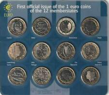 Nederland mini set - 1 euro Coins of the 12 Memberstates