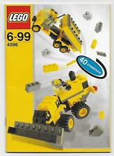 Lego Instruction Manual 6-99 40 Creations 4096-Instruction Manual Only!