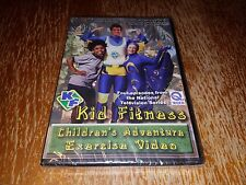 Kid Fitness Children's Adventure Exercise Video Episode 10-13 Paul Neville NEW!