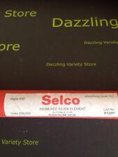 Selco Infra Red Silica Heater Element 650W 240V Sunhouse HF35 ST25P 489mm 19 1/4