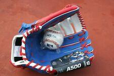 Wilson A500 Baseball Glove Wilson Contreras 12.5 RHT Red White Blue+Ball, New