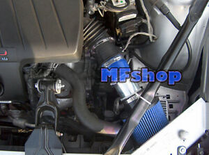 BLUE For 2000-2003 Pontiac Grand Prix 3.1L 3.4L V6 Air Intake System + Filter