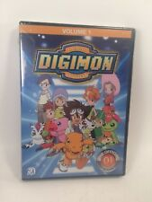 DIGIMON Season 1 Volume 1 DVD Digital Monsters 3 Disc Set 21 Episodes NEW Anime