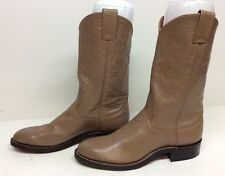 WOMENS NOCONA COWBOY LEATHER BROWN BOOTS SIZE 6 B