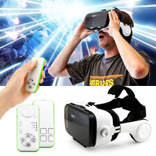 Virtual Reality 3D VR Glasses Z4 Headset Headphones with remote controller
