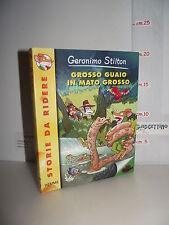 LIBRO Geronimo Stilton GROSSO GUAIO IN MATO GROSSO 2^ed.2011 Storie da ridere☺