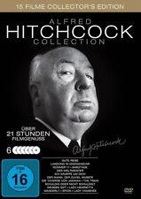 DVD ALFRED HITCHCOCK (6 DVDs): Rebecca / Berüchtigt / Geheimagent /... ++NEU