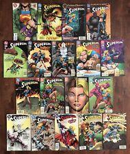 Lot of 18 DC Comics SUPERGIRL - #1 plus 2 3 4 5 6 7 8 13-19 22 27 28