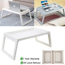 Foldable Lap Bed Breakfast Tray Laptop Desk Floor Dining Table Folding Leg Home