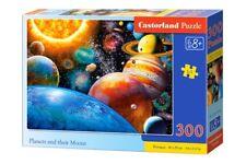 Puzzle Castorland 300 Teile - Planeten und Monde (59123)