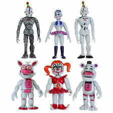 "3.9""/10cm FNAF Sister Location Five Nights at Freddy's Figure Set 6pcs/set Toys"