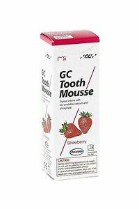 Recaldent GC Tooth Mousse 40g  Cr_me de Fraise Dentrifice Topique _ Base de Lait