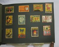 INDIAN OLD VINTAGE MATCHBOX MIX LABELS SHEET INDIAN MATCH BOX COLLECTIBLE 006