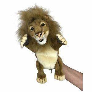 "Hansa Lion Hand Puppet soft plush toy 12""/30cm Cheetah Puppet"