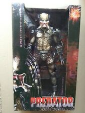 """Large NIB NECA Series 1 Predator. Classic Unmasked Open Mouth. 1:4 Scale. 18""""."""