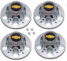 1977-1995 CHEVROLET 1500 SILVERADO SUBURBAN BLAZER Wheel Center Cap SET NEW