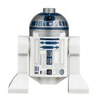 LEGO Star Wars Minifigure - R2-D2 - Flat Silver Head - sw0527a