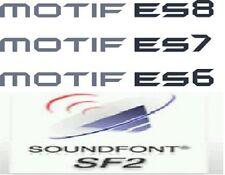 Soundfonts Motif ES Mo' Phatt Korg M1 Proteus Reason Refill Kontakt Trap RAP SF2