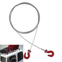 RC axial SCX10 1/10 RC Trailer gancho remolque cadena grilletes coche orugaSC