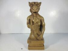 Gargoyles Brooklyn Ny Statue Studio Made in Usa Resin Monster Figure Bookend