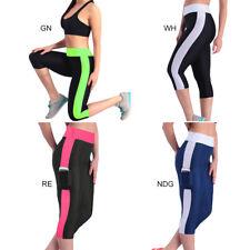Mujer Pantalones Deportivo Deporte Yoga Ejercicio Gimnasio Fitness Leggings Ropa