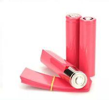 20 Rojo 18650 Batería Envolturas Pre Corte encogimiento del calor