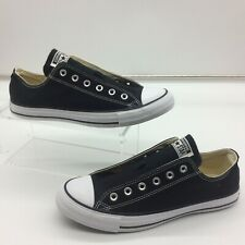 CONVERSE UNISEX ADULTS BLACK LOW ALL STAR CANVAS TRAINERS MANY SIZES RRP £52 C