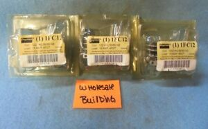 DAYTON 1FC12 GENERAL PURPOSE RELAY 15 AMPS, 4PDY, 14-PIN,    LOT OF 3