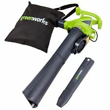 GreenWorks 24022 Corded Electric 12A 230Mph 2-Speed Blower/Vacuum