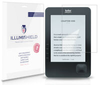 iLLumiShield HD Screen Protector w Anti-Bubble/Print 3x for Kobo WiFi eReader
