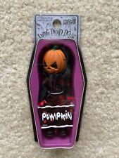 Living Dead Dolls Minis - Mezco - Pumpkin New In Coffin 4 Inch Tall