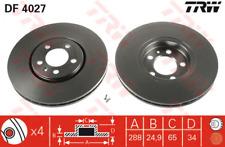 Brake Disc (2 Piece) - TRW df4027